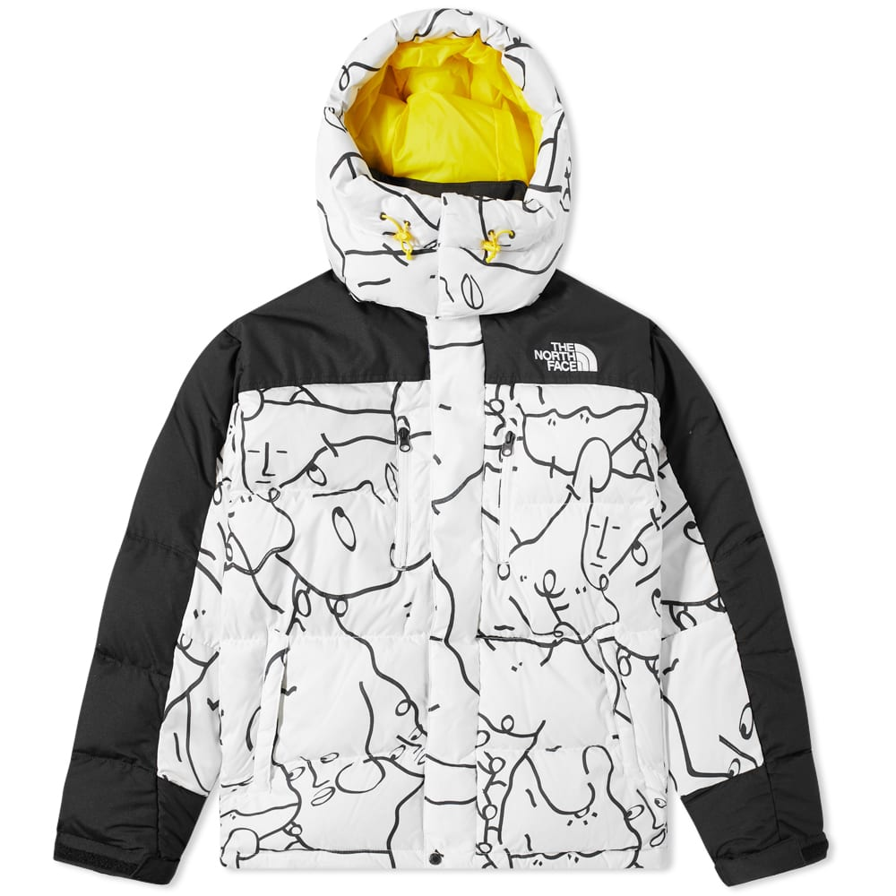 The North Face Himalayan Down Parka - White Search & Rescue