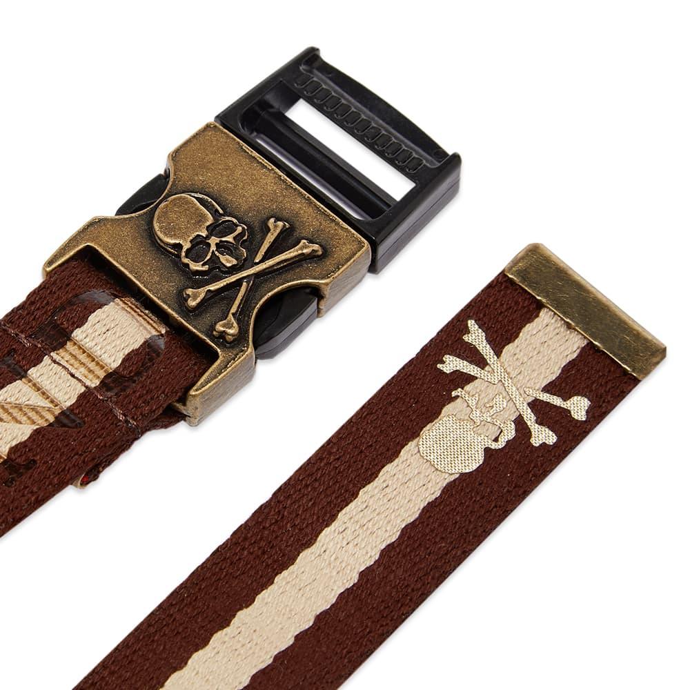 MASTERMIND WORLD Tape Belt - Brown & Sand