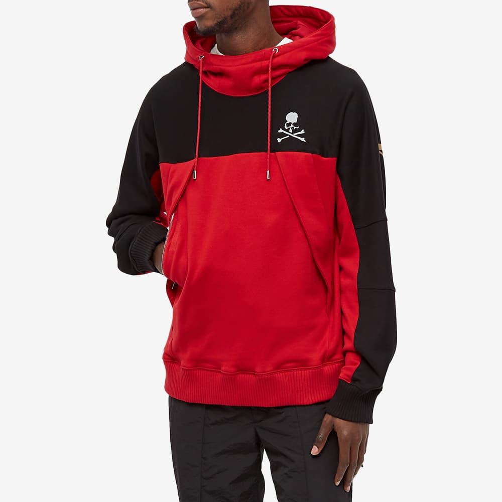 MASTERMIND WORLD Mountain Hoody - Black & Red