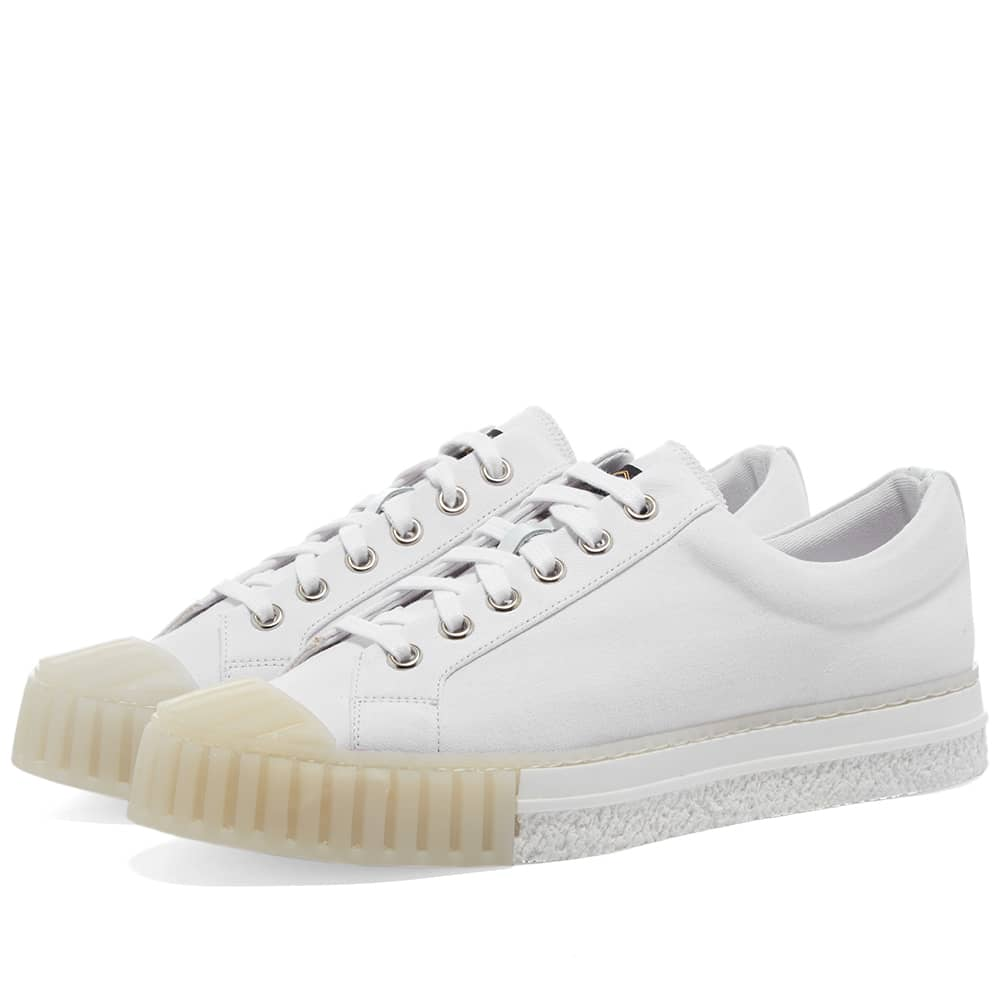 Adieu Type W.O Low Top Canvas Sneaker - White
