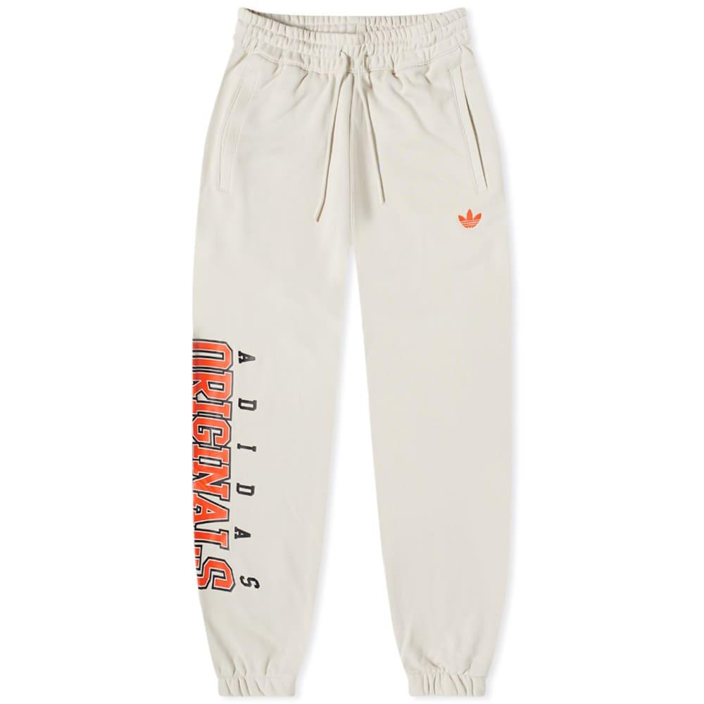Adidas Script Sweat Pant - Oatmeal