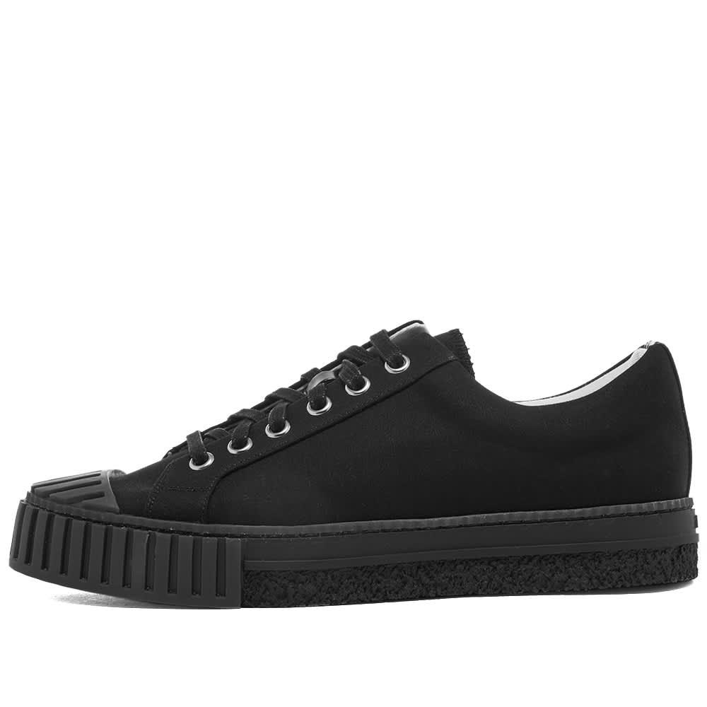 Adieu Type W.O Low Top Canvas Sneaker - Black