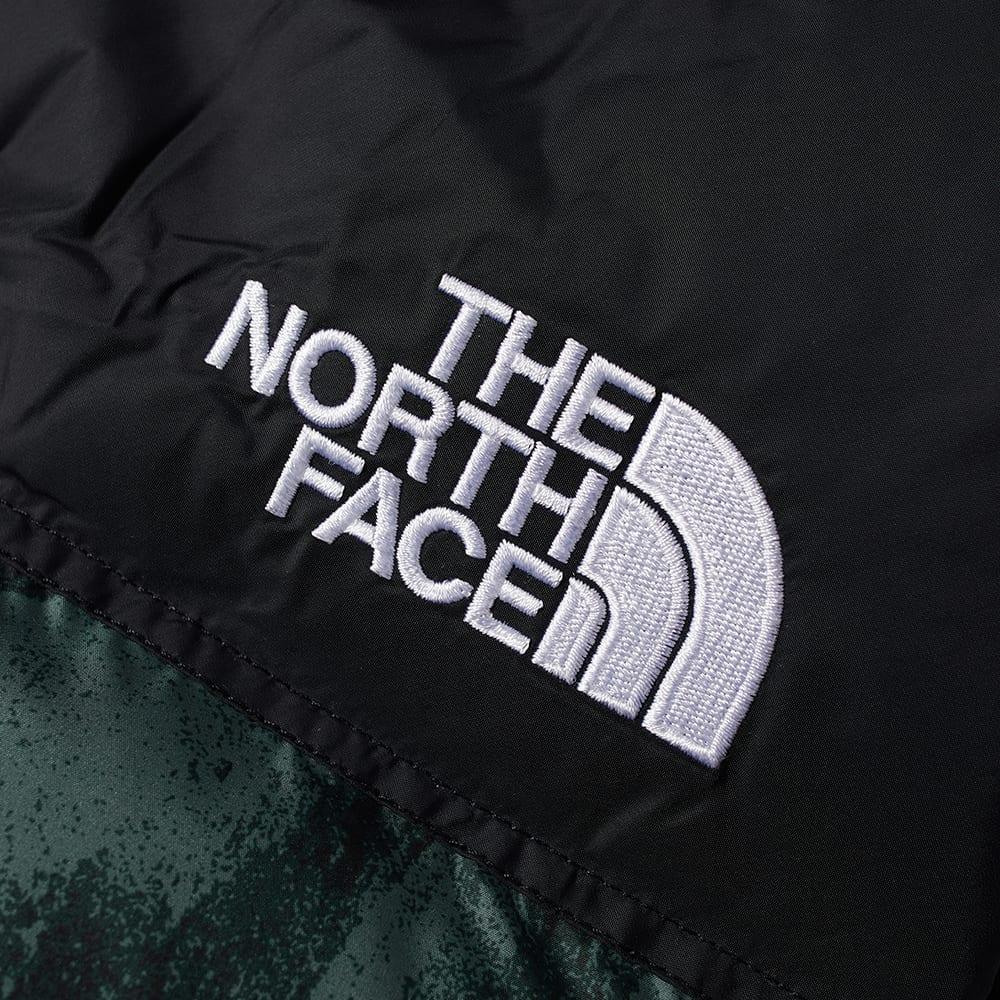 The North Face 1996 Retro Nuptse Vest - Balsam Green & Wooden Tiger