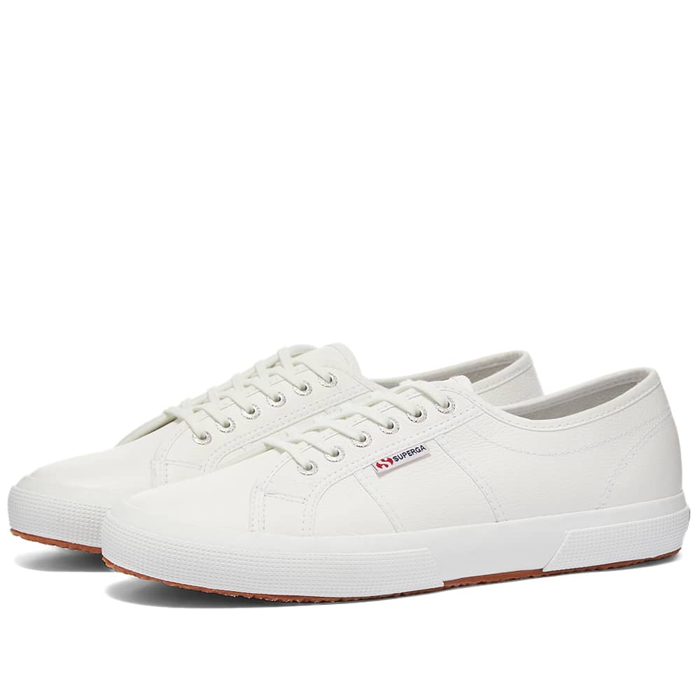 Superga 2750 EFGLU Leather - White