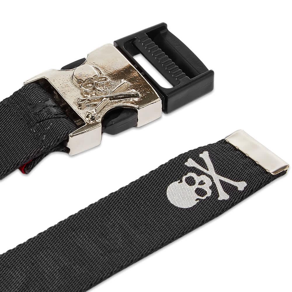 MASTERMIND JAPAN Skull Tape Belt - Black