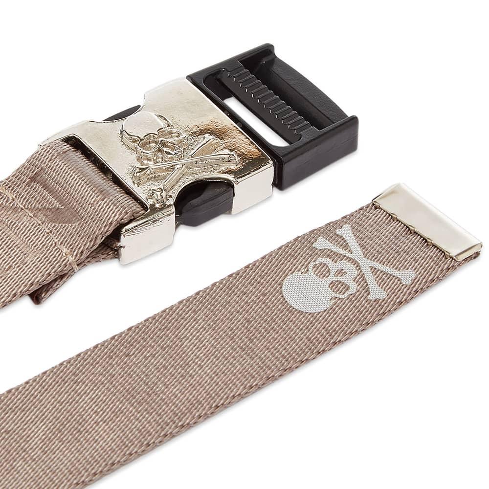 MASTERMIND JAPAN Skull Tape Belt - Grey