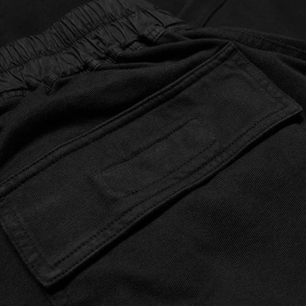 Rick Owens DRKSHDW Mediumweight Drawstring Cropped Pants - Black