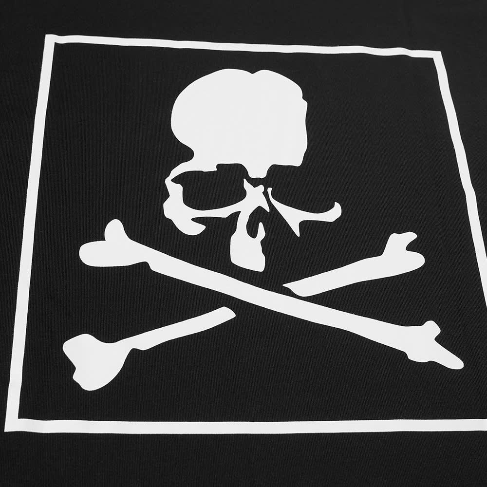 MASTERMIND WORLD Long Sleeve Regular Box Logo Tee - Black