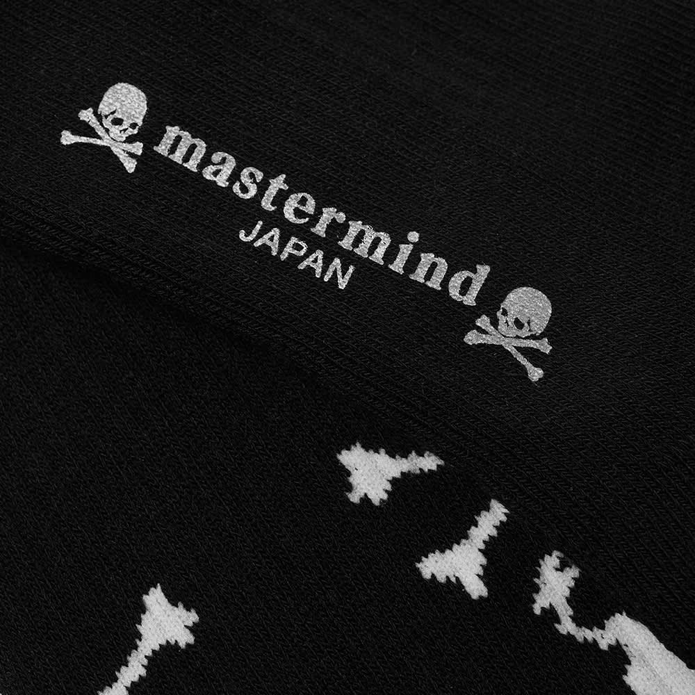 MASTERMIND JAPAN Skull Sock - Black