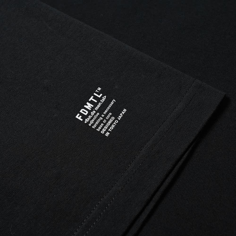 FDMTL Origami Tee - Black