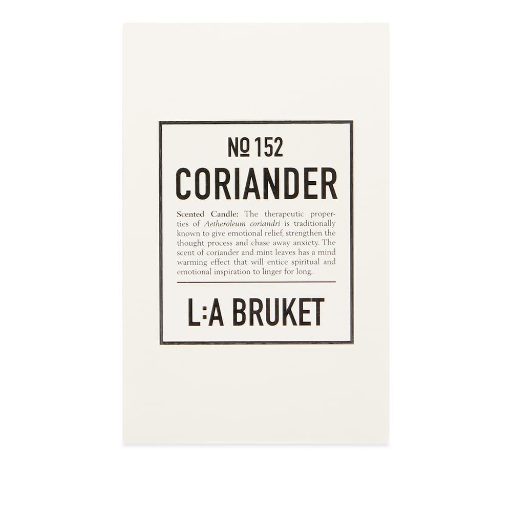 L:A Bruket Scented Candle - Coriander 260g