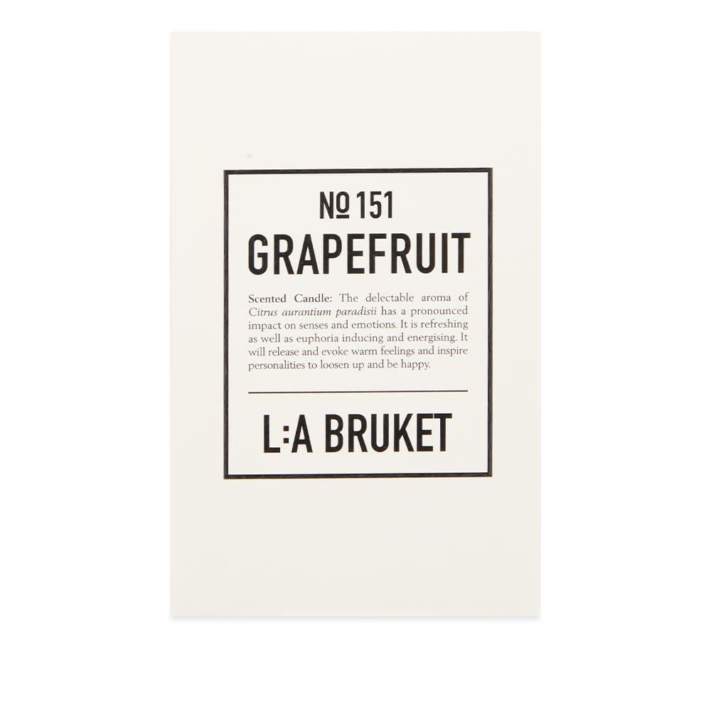 L:A Bruket Scented Candle - Grapefruit 260g