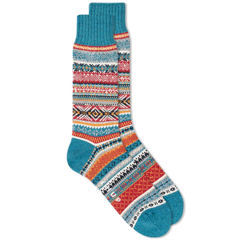 Chup Aistear Sock - Teal