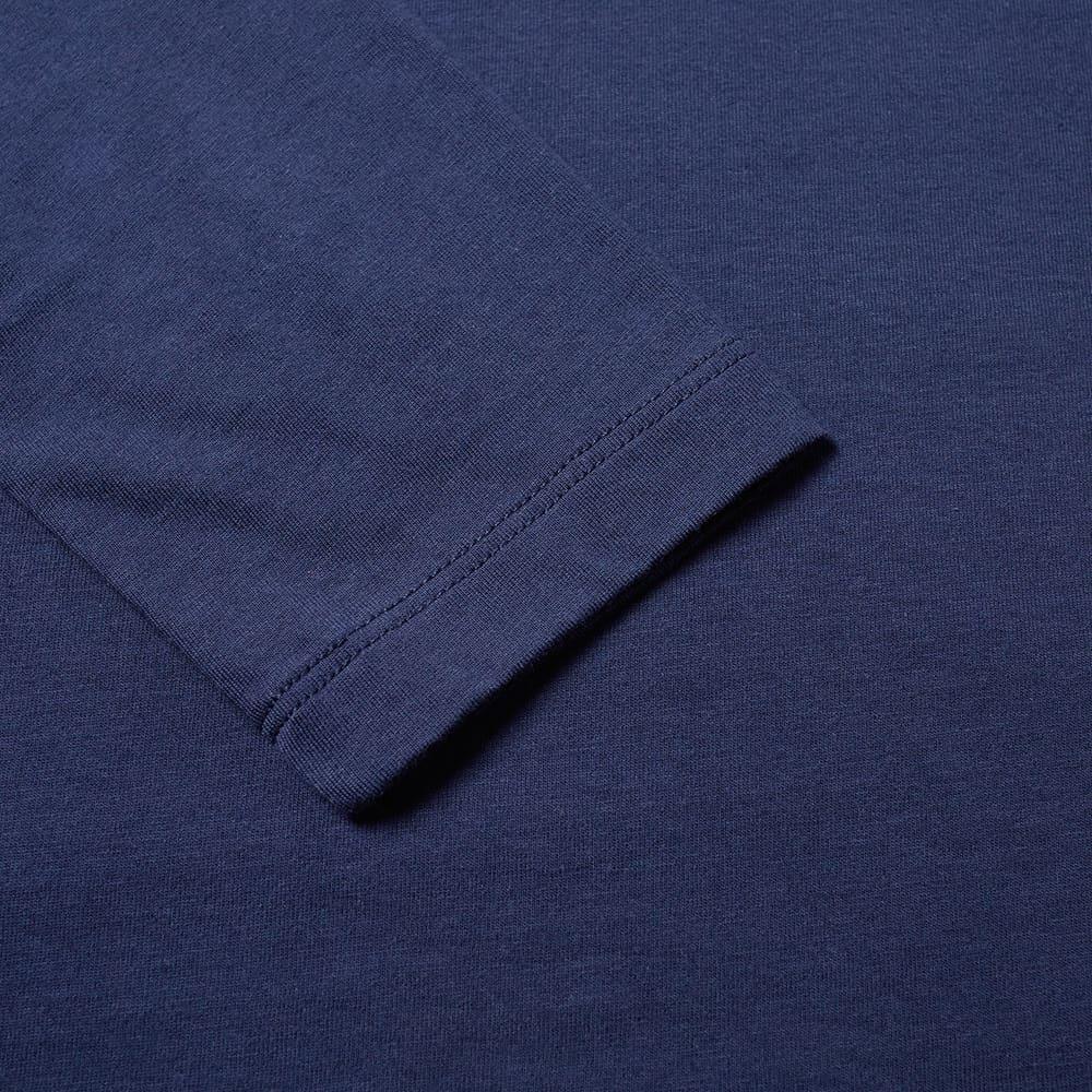 Coach Rexy Long Sleeve Patch Tee - Navy