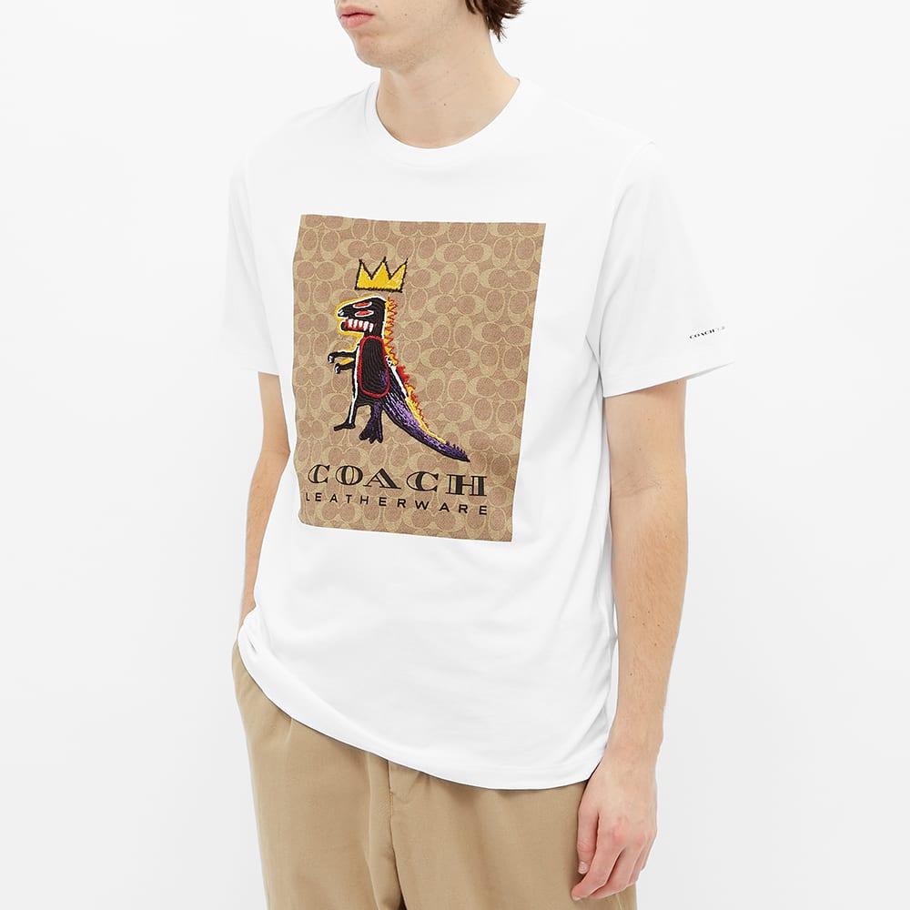 Coach x Basquiat Rexy Tee - White