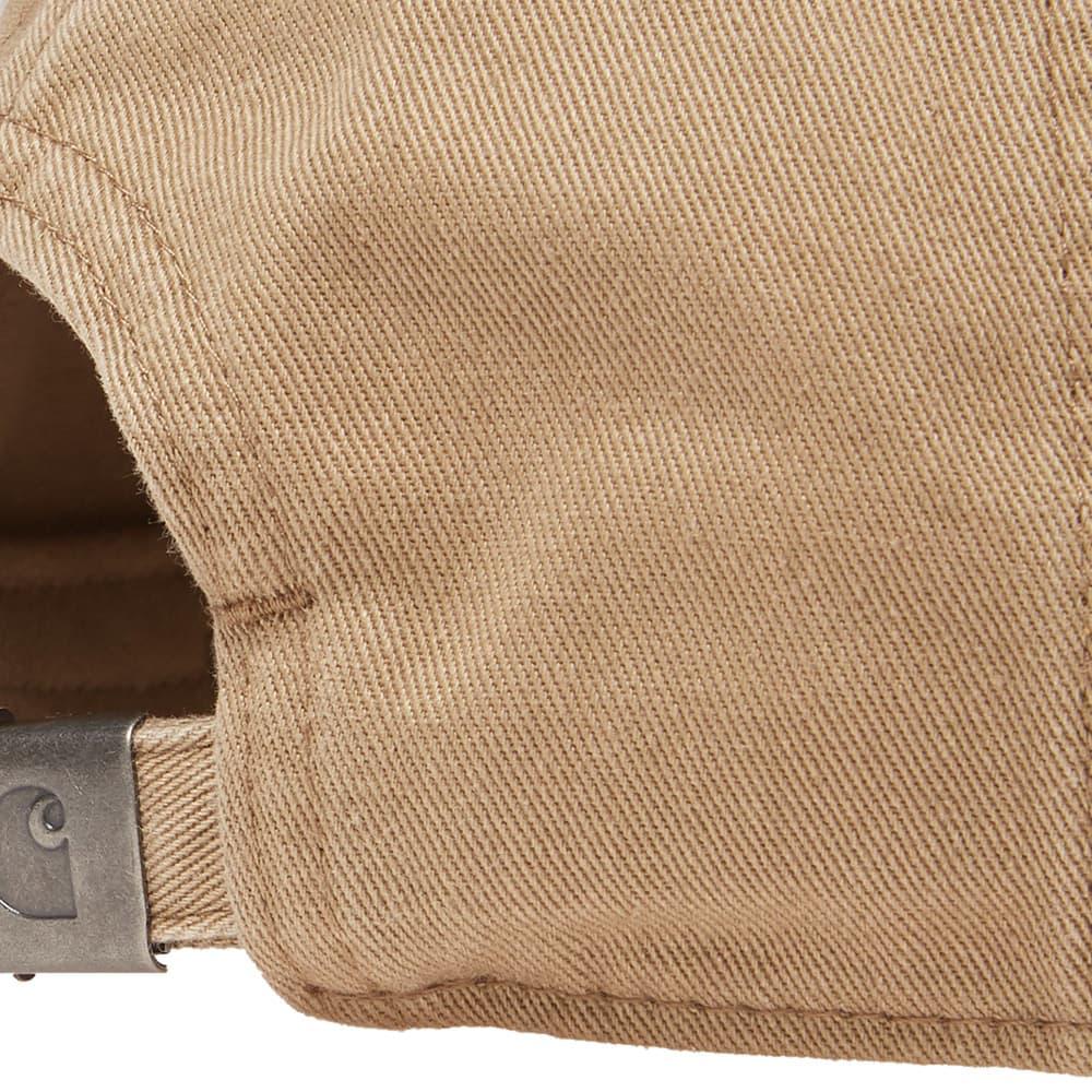 Carhartt WIP Madison Logo Cap - Leather & Navy