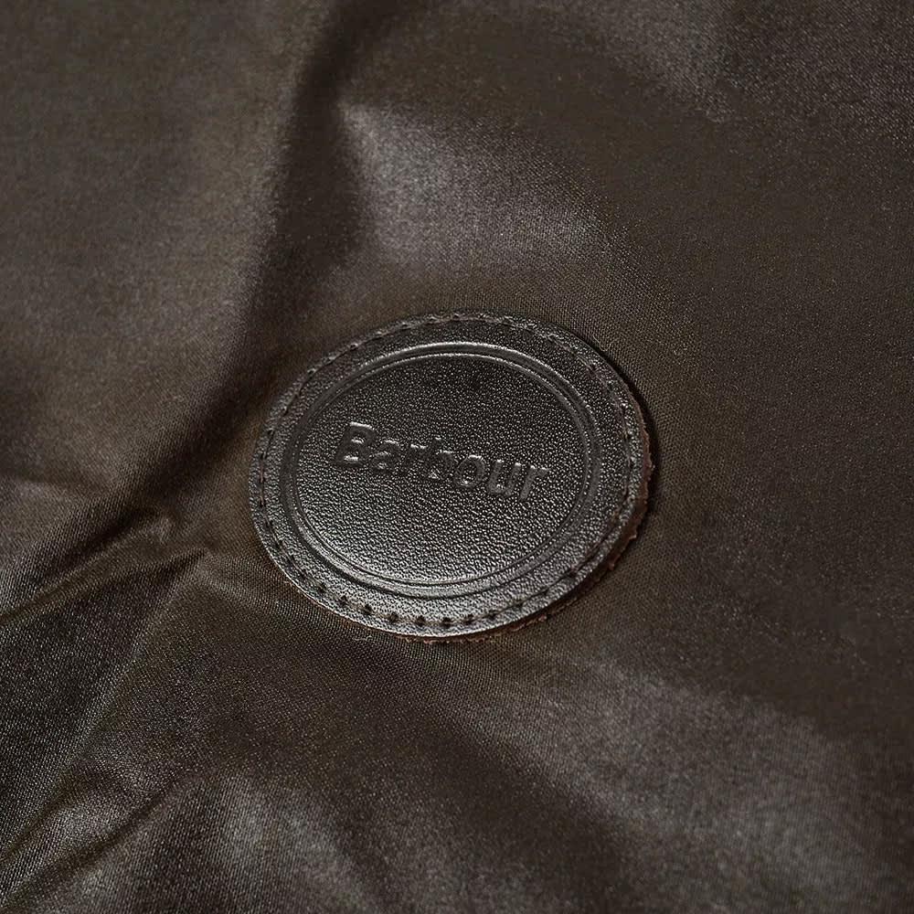 Barbour Wax Dog Coat - Olive