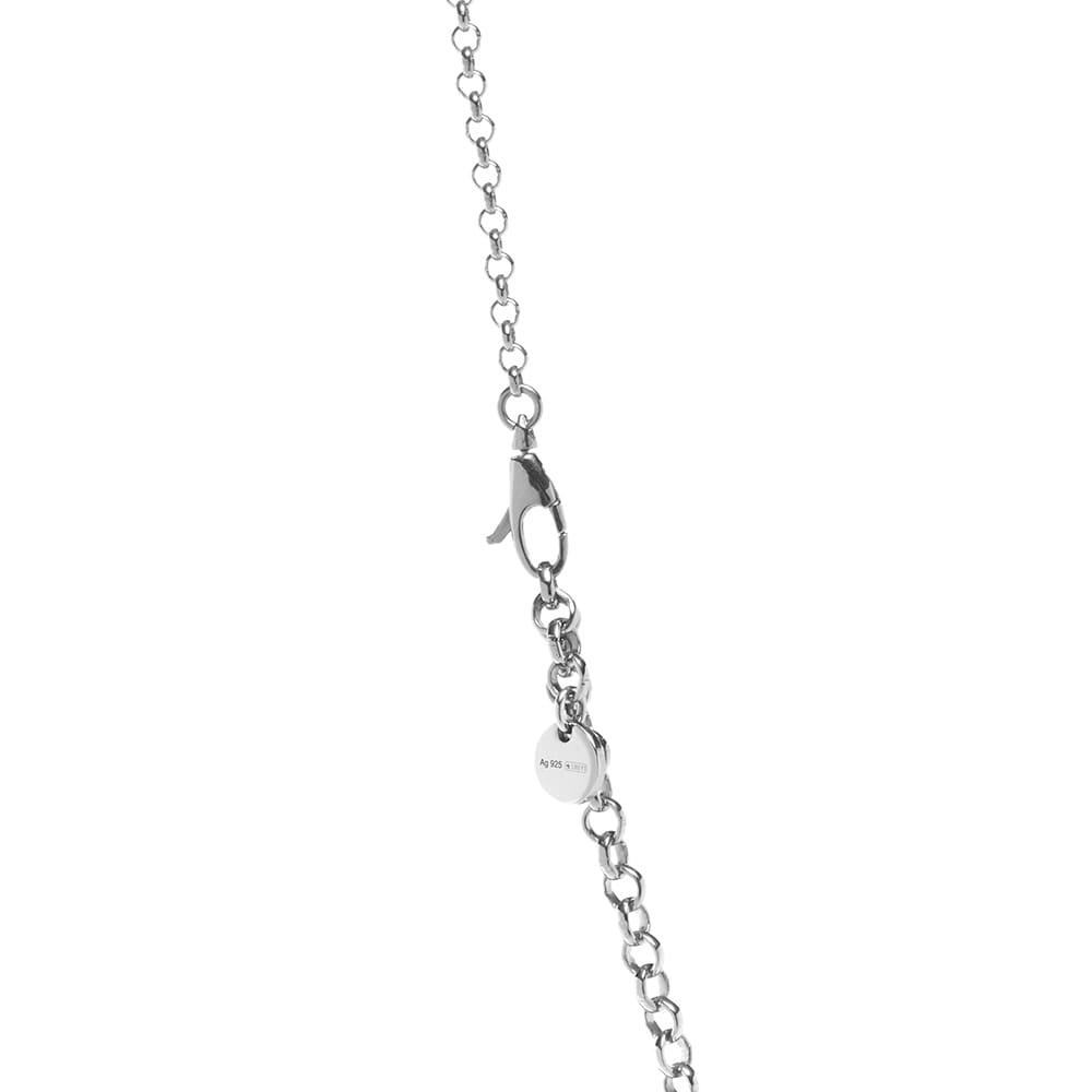 Gucci Interlocking G 45cm Necklace - Aged Sterling Silver