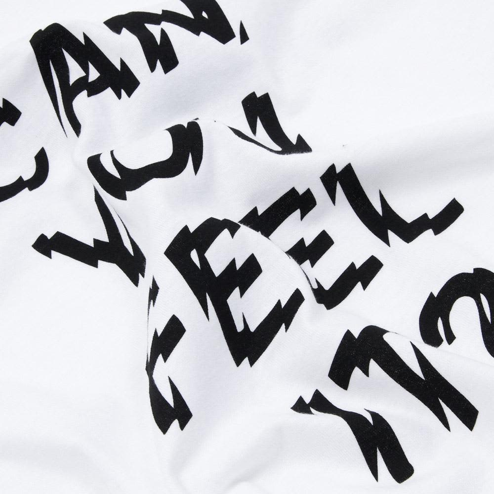 Stussy Can You Feel It? Tee - White & Black