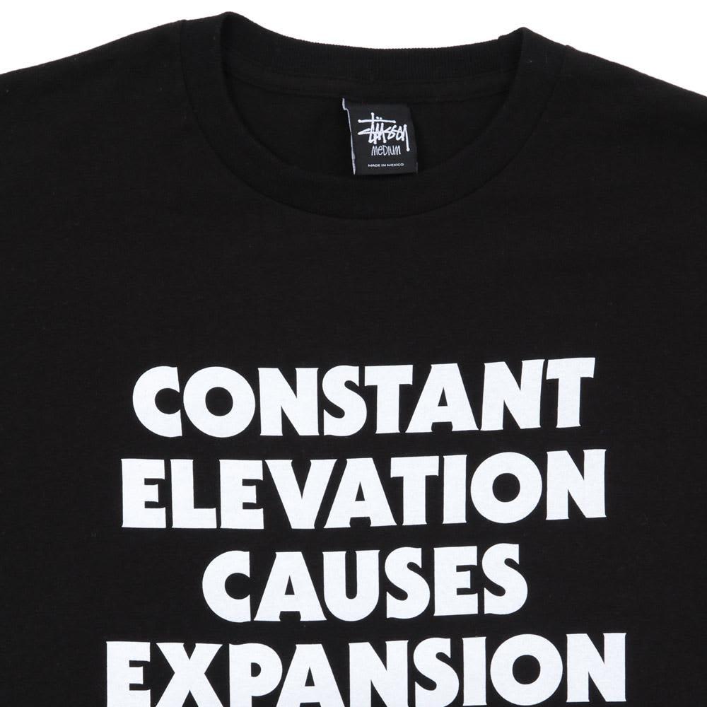 Stussy Elevation Tee - Black & White