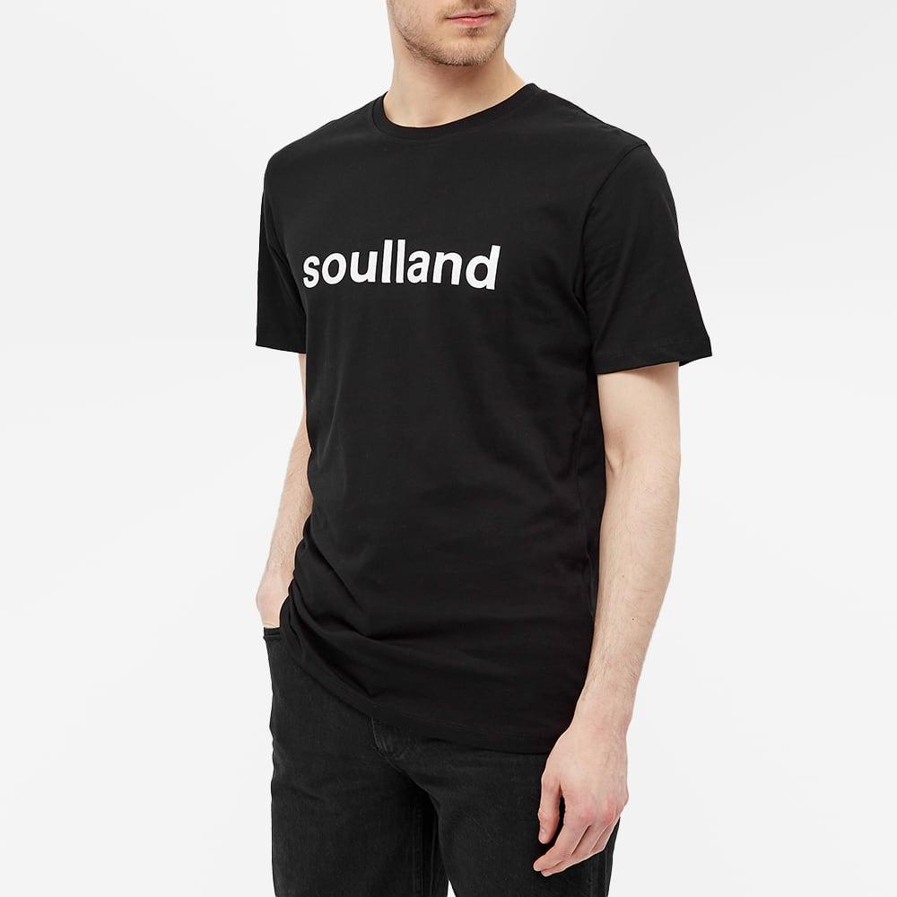 Soulland Chuck Logo Tee - Black