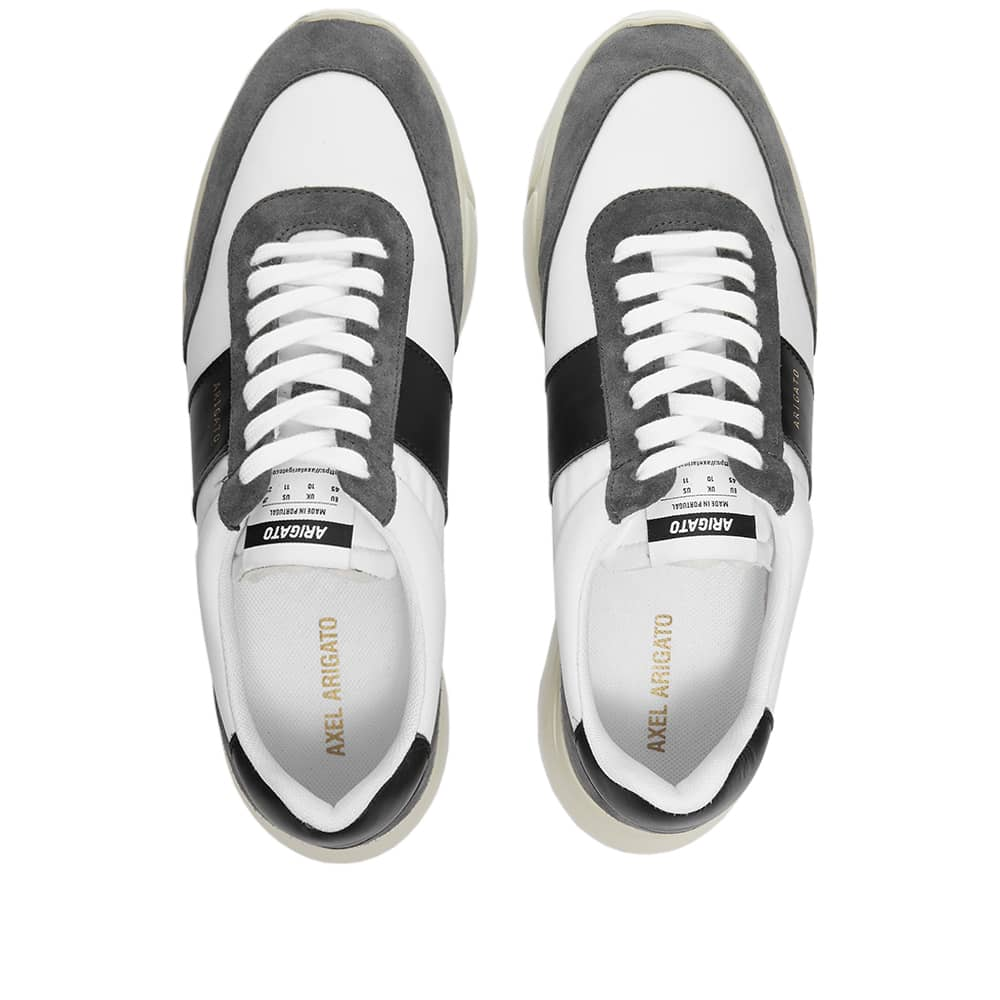 Axel Arigato Genesis Vintage Runner - Dark Grey, White & Black