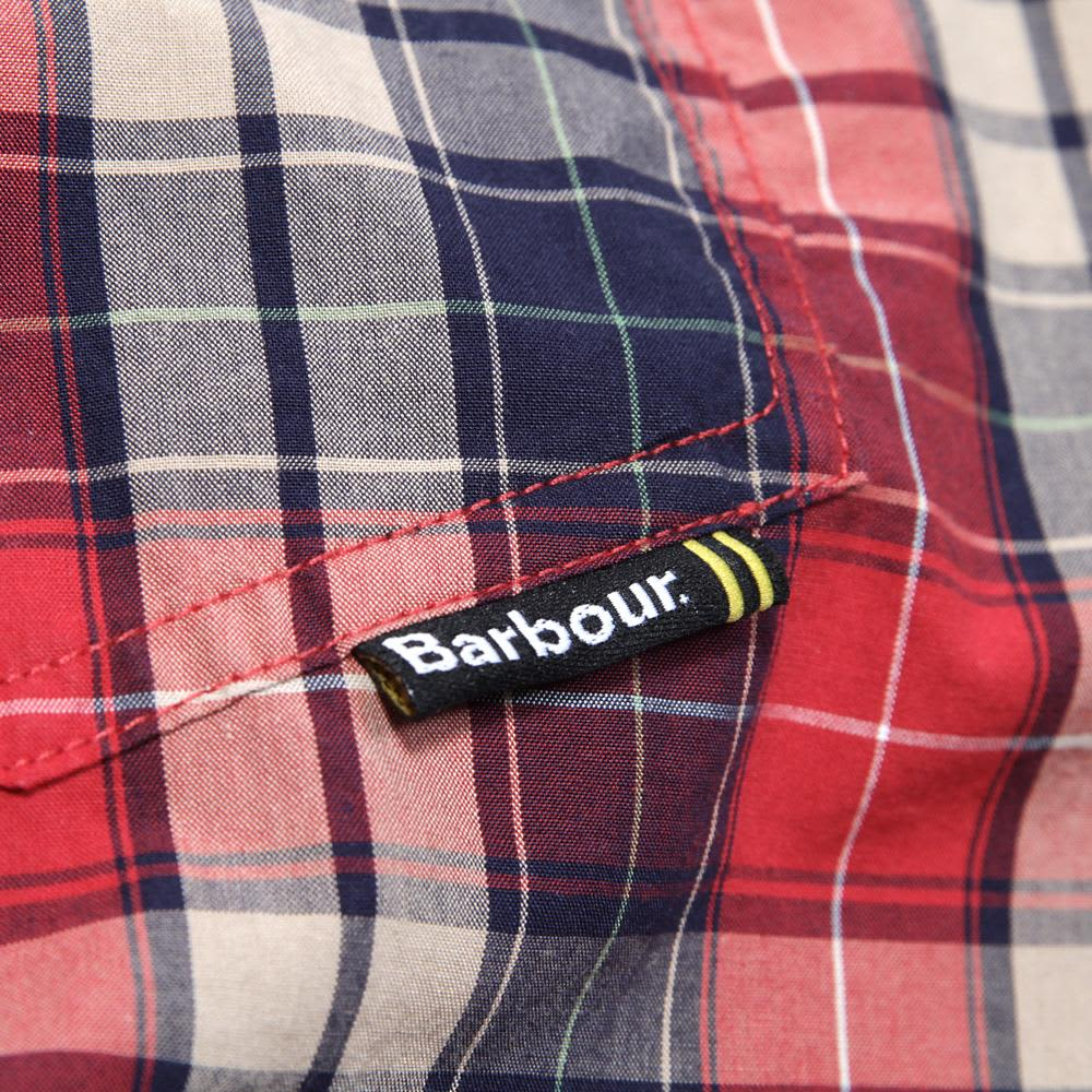 Barbour Union Shirt - Red Check