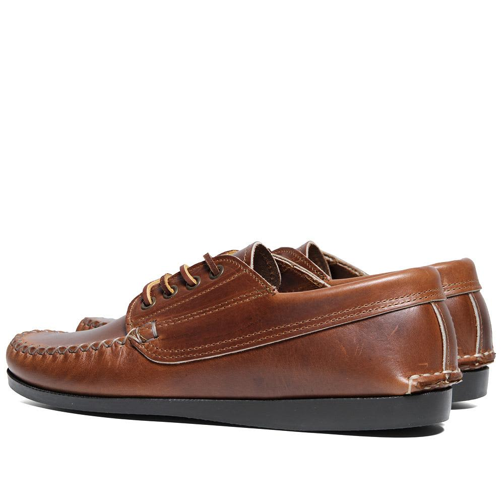 Quoddy Camp Sole Maliseet Oxford - Whiskey Cavalier