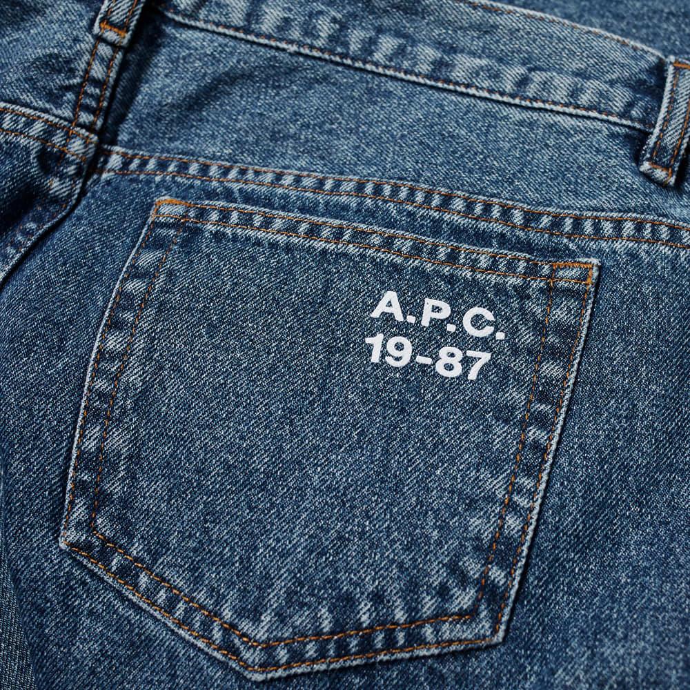 A.P.C. Cure Jean - Light Blue Wash