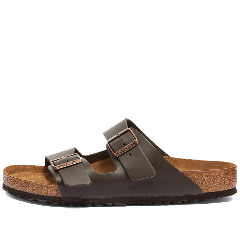 Birkenstock Arizona - Dark Brown Smooth Leather