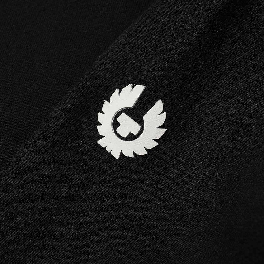 Belstaff 1924 Logo Popover Hoody - Black & White