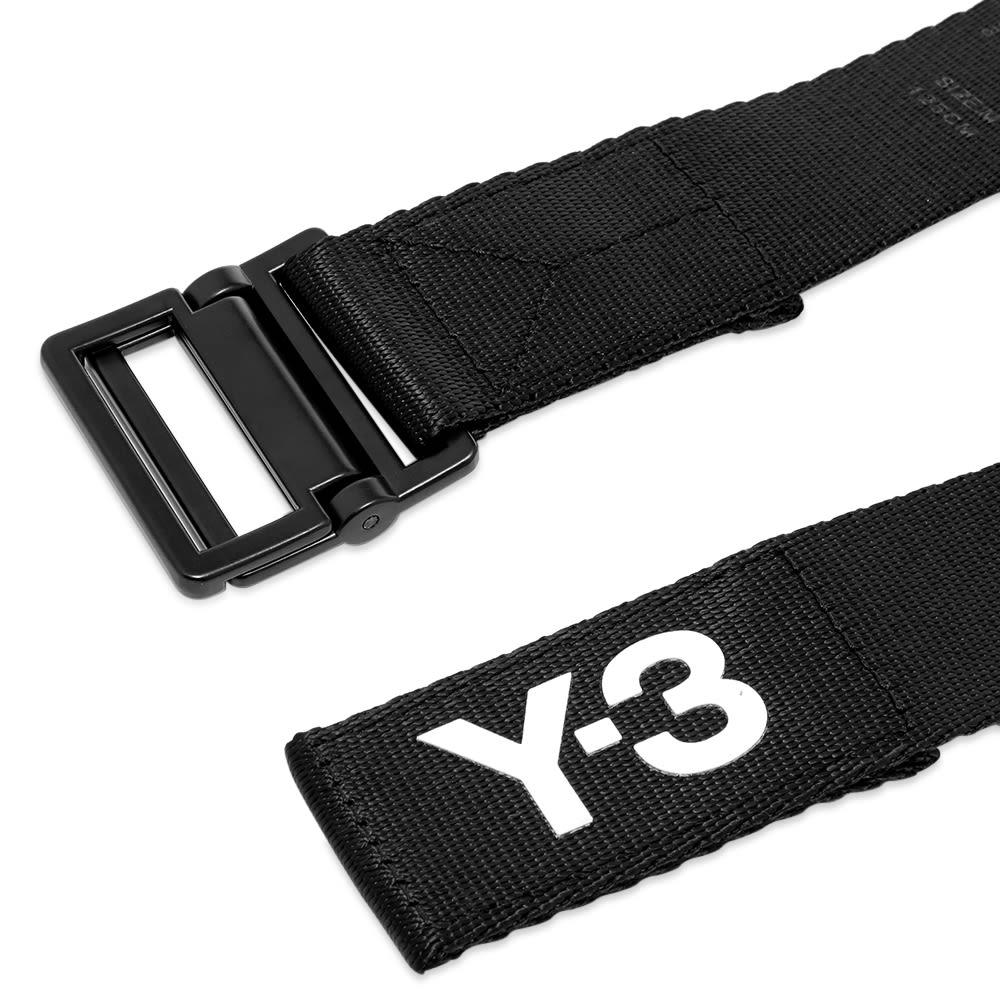 Y-3 Classic Logo Belt - Black