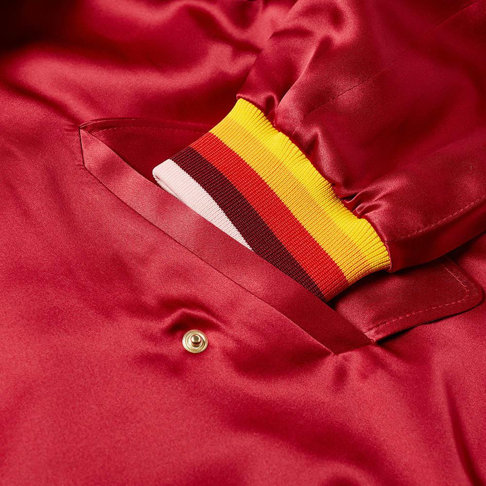 Casablanca Embroidered Souvenir Jacket - Bordeaux