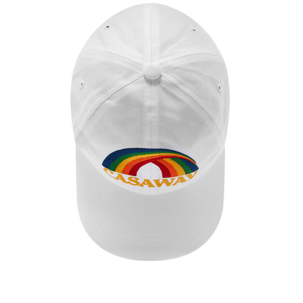 Casablanca Casaway Embroidered Cap - White