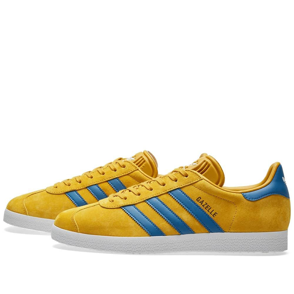 Adidas Gazelle Nomad Yellow \u0026 Core Blue