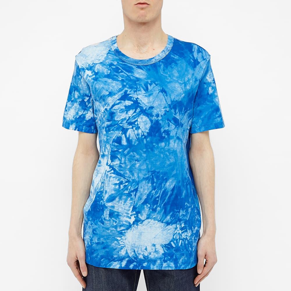 Schiesser Tie Dye Georg Tee - Atlantic Blue