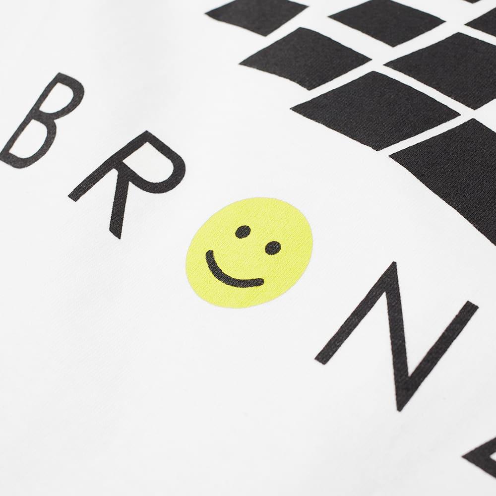 Bronze 56k Smiley B Logo Tee - White