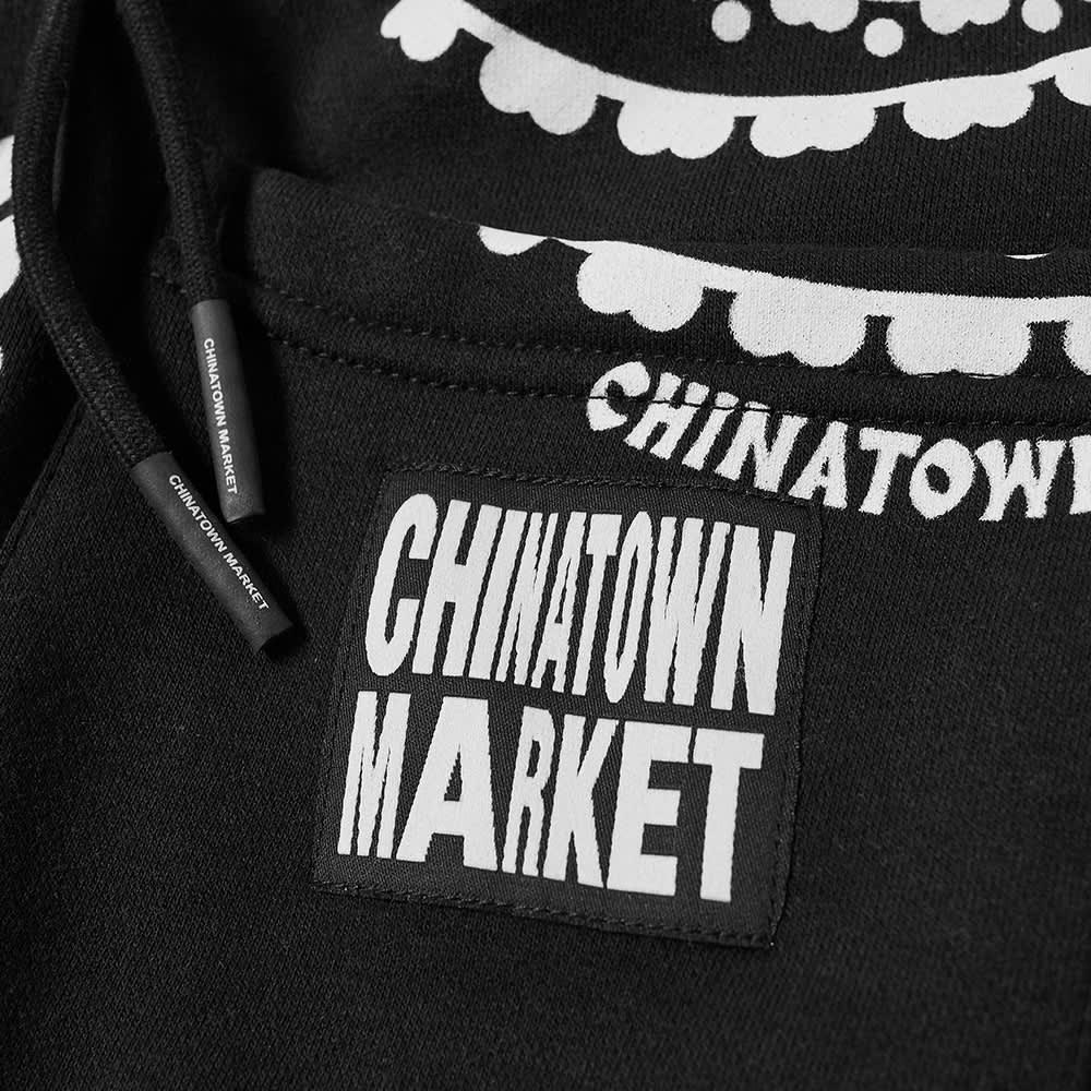 B&W x Chinatown Market Paisley Short - Black