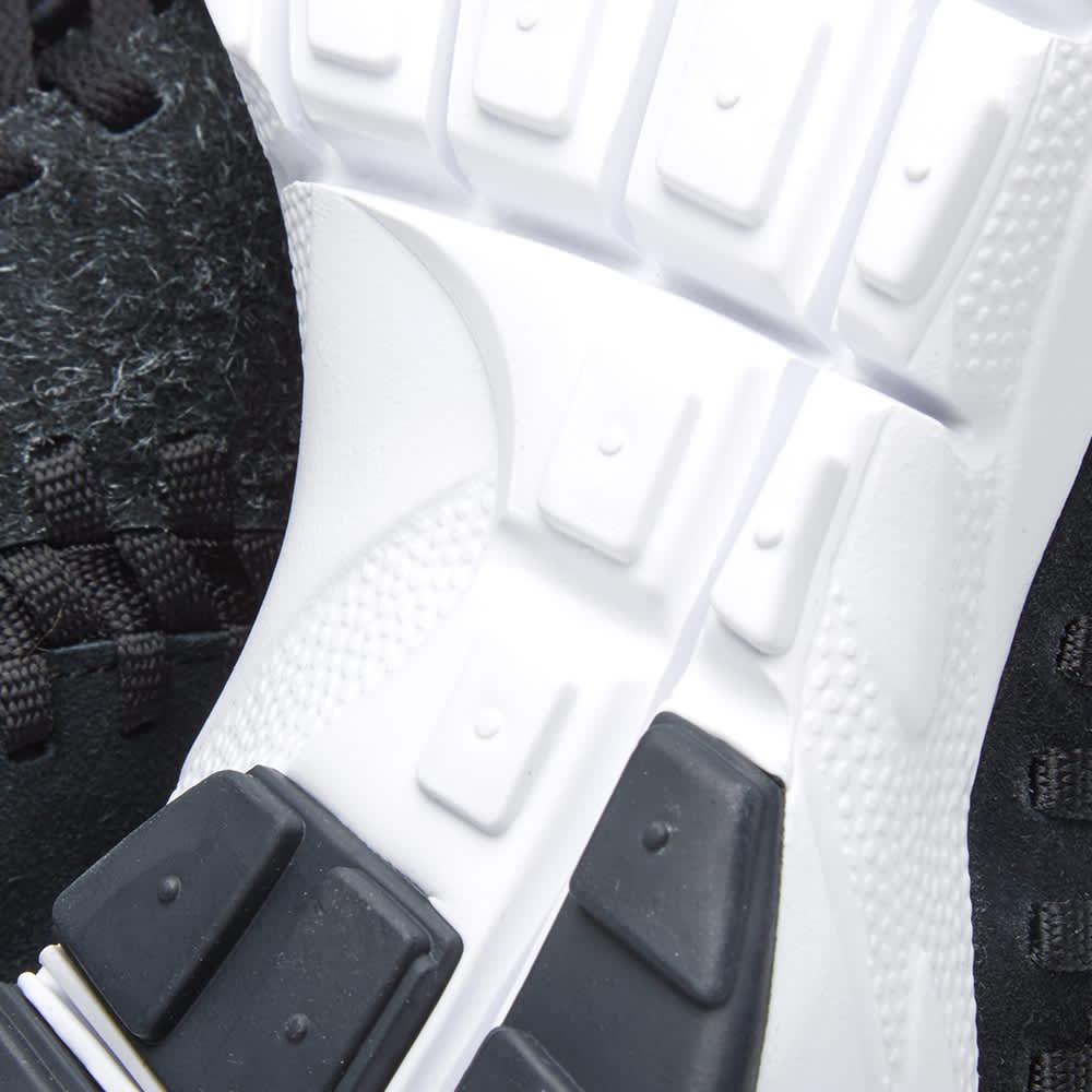 Nike Air Footscape Woven Chukka - Anthracite, Black & White