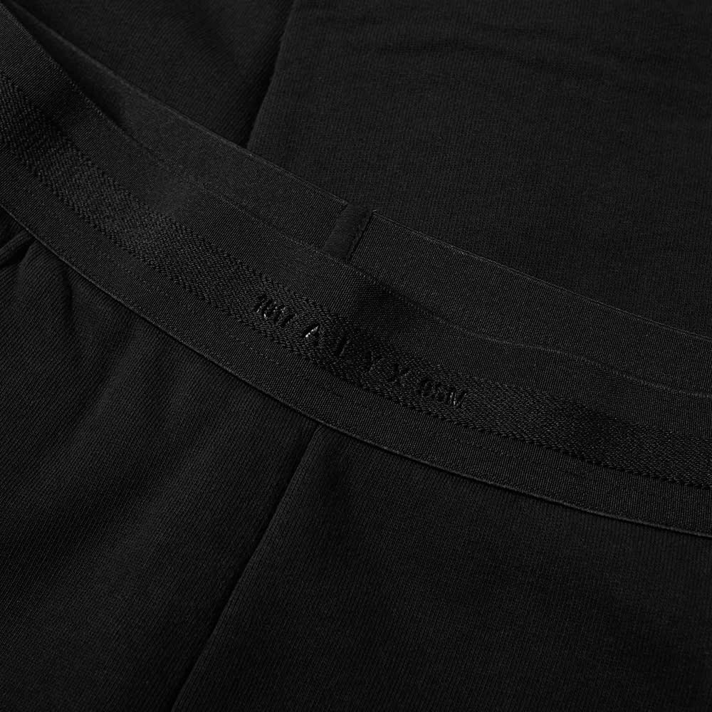 1017 ALYX 9SM Double Logo Jogger - Black