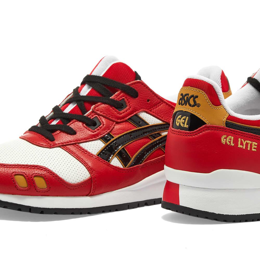 Asics Gel Lyte III OG 'Daruma Doll' - Classic Red & Black