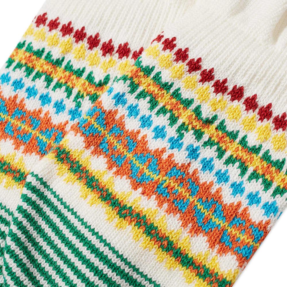 Chup Muir No Show Sock - White