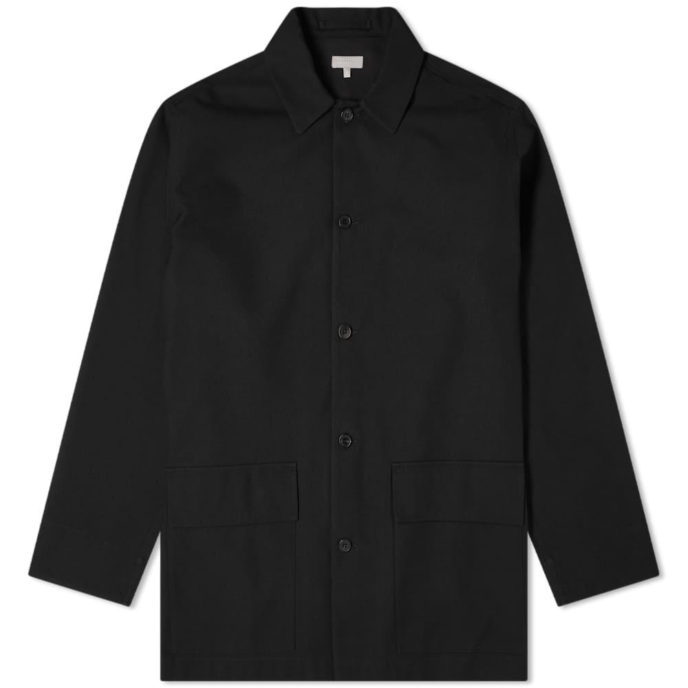 Margaret Howell Long Overshirt - Black