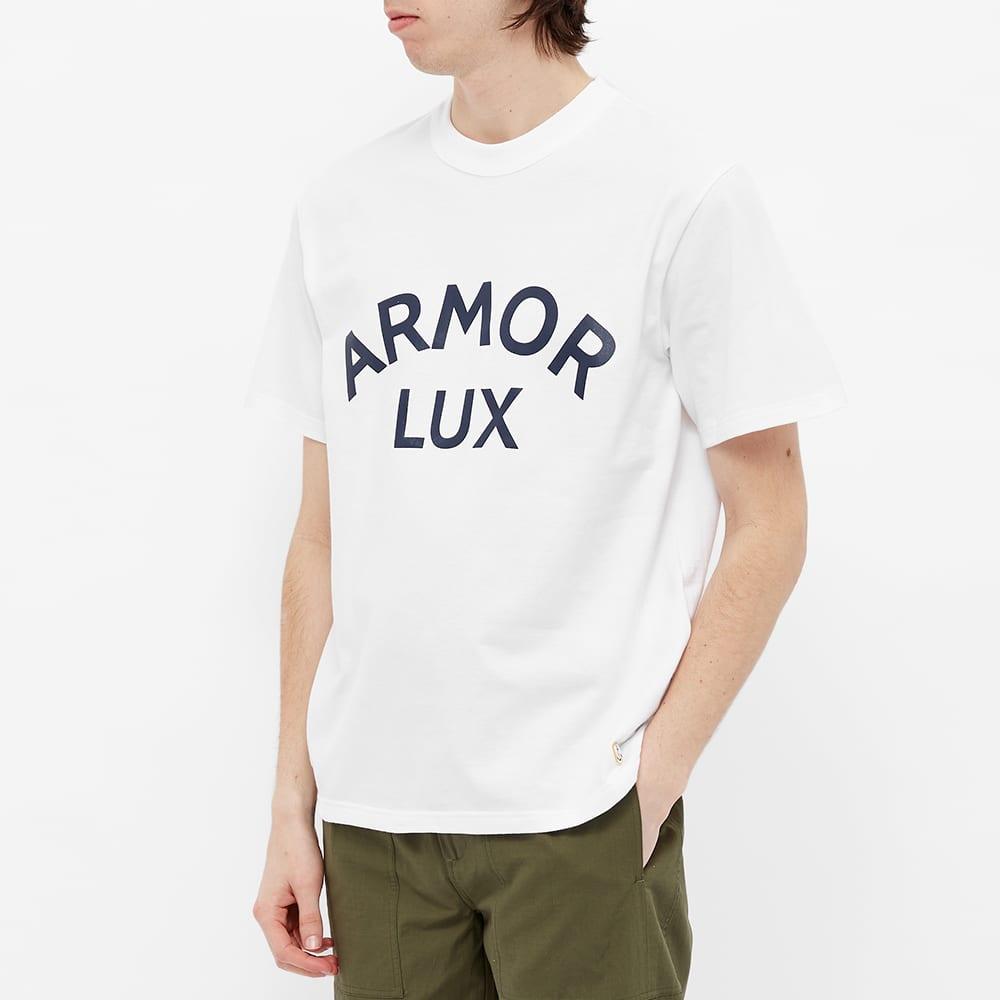 Armor-Lux Classic Logo Tee - White