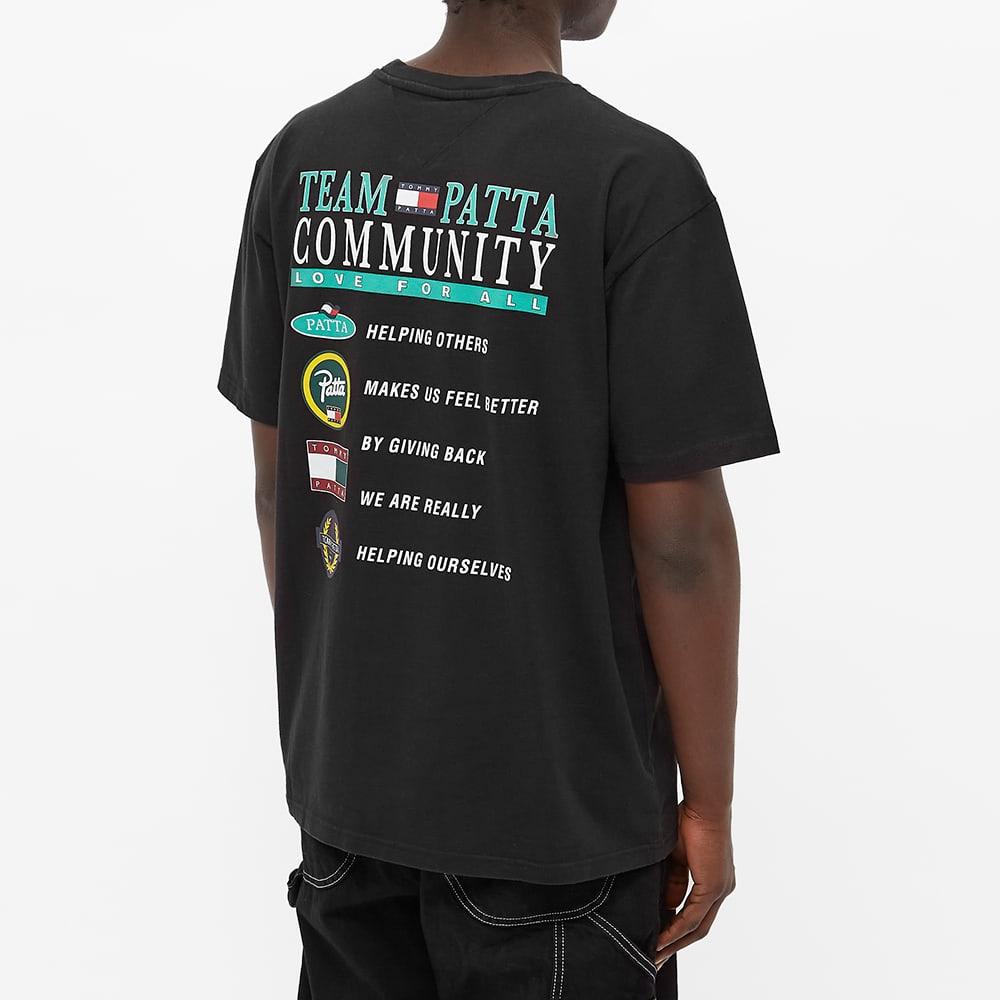 Tommy Jeans x Patta Community Tee - Black