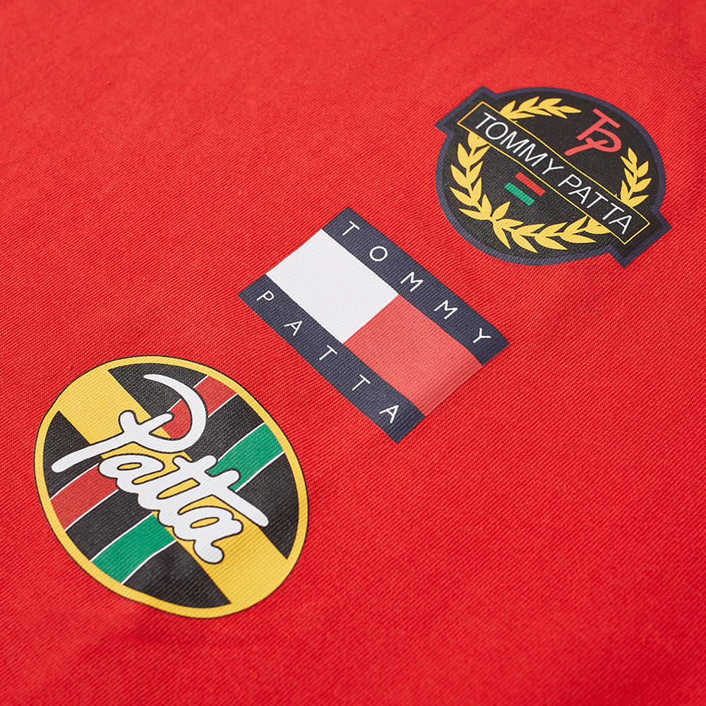Tommy Jeans x Patta Flag Tee - High Risk Red