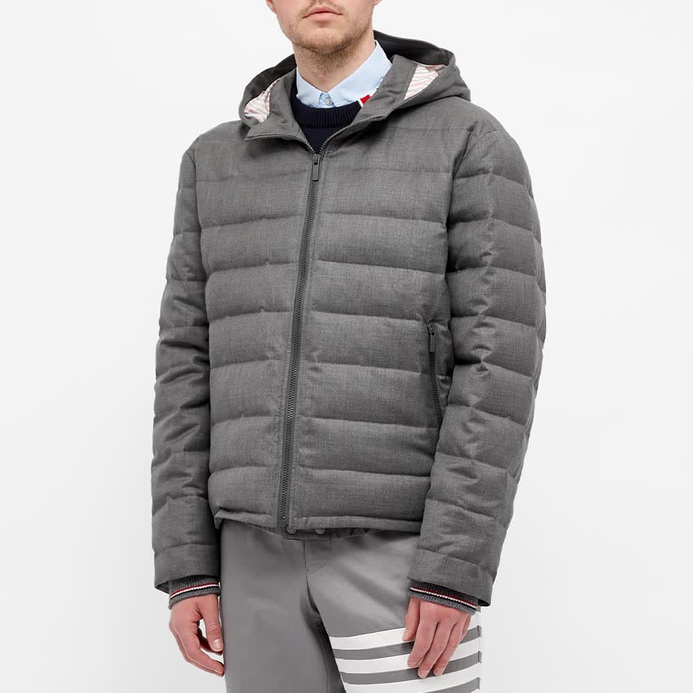 Thom Browne Down Filled Ski Jacket - Medium Grey