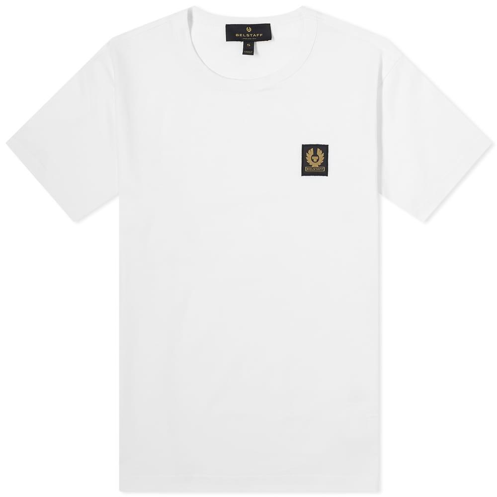 Belstaff Patch Logo Tee - White