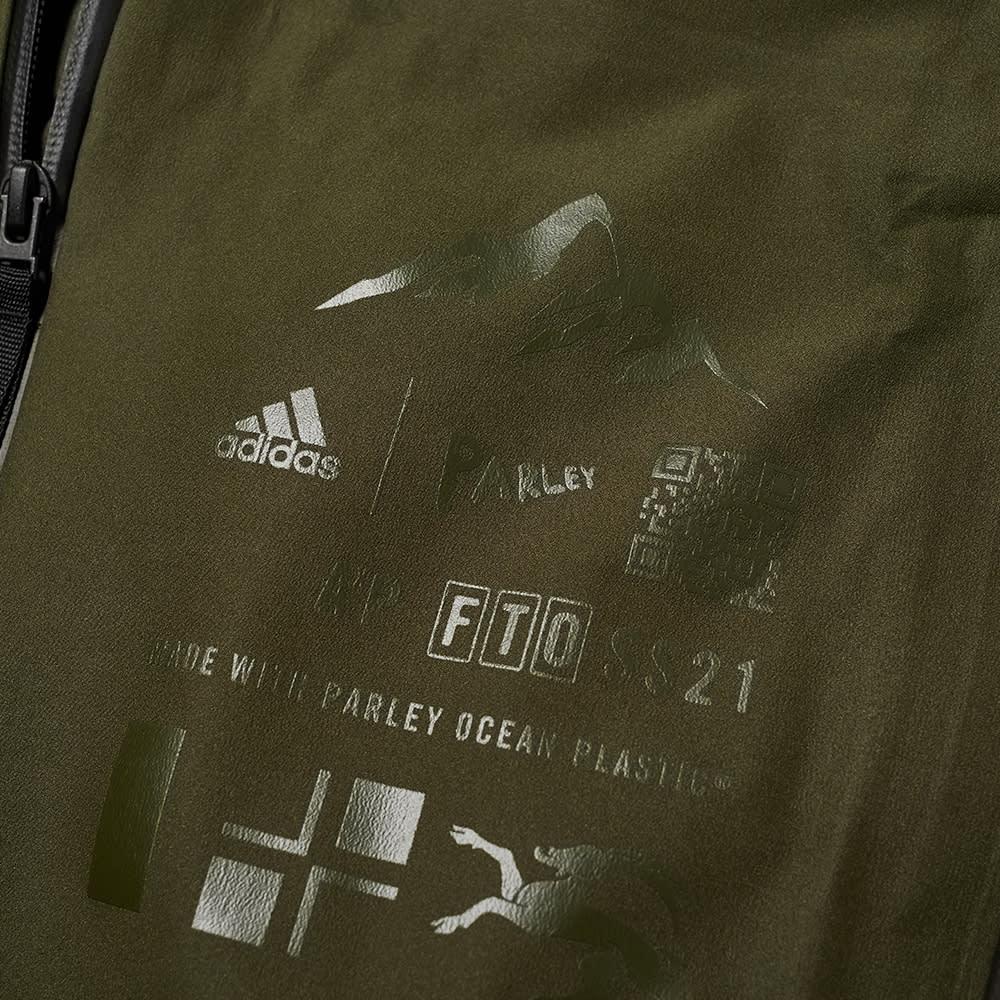 Adidas Parley Myshelter Rain Jacket - Night Cargo