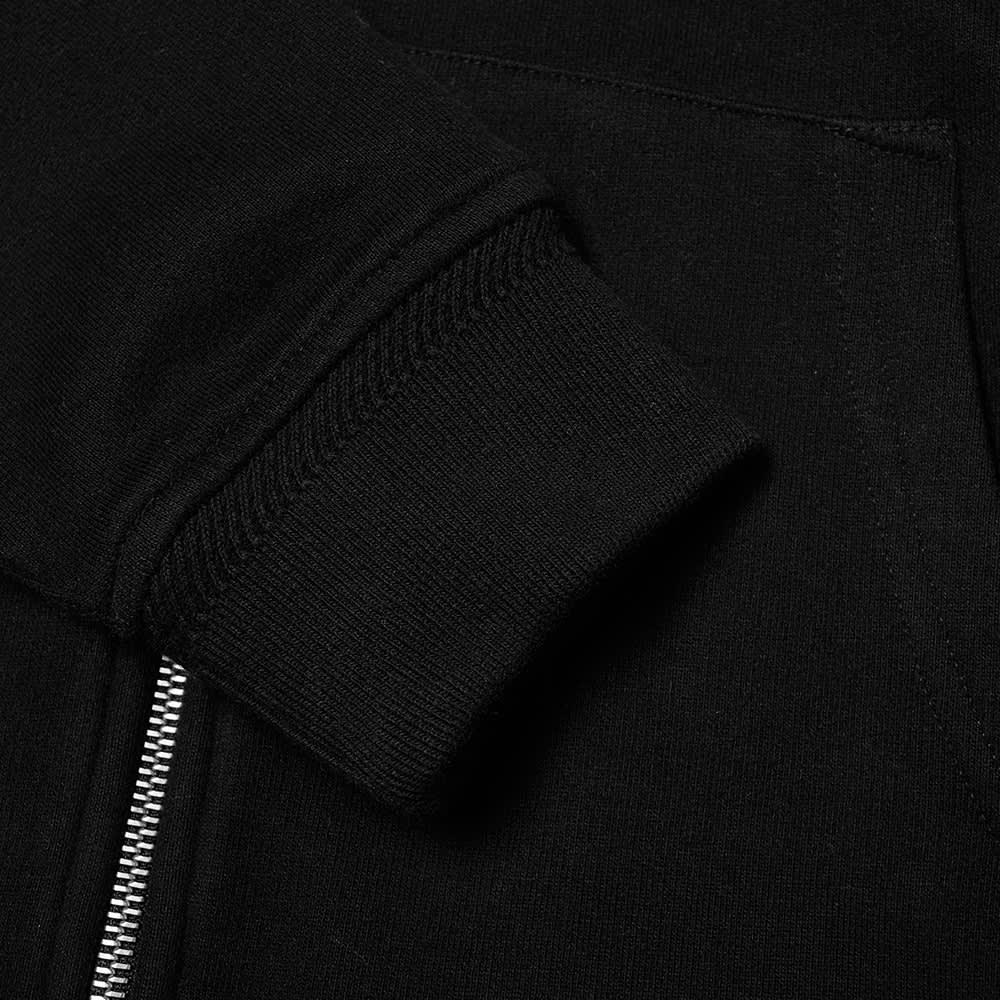 Belstaff Patch Logo Zip Hoody - Black